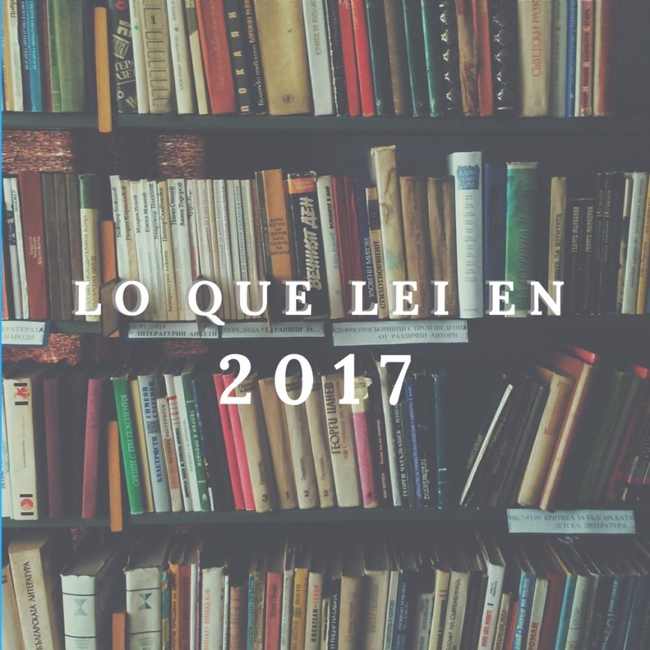 lo que lei en 2017